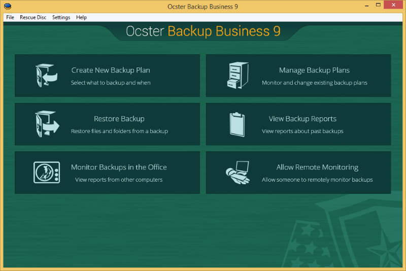 Ocster Backup Business Download