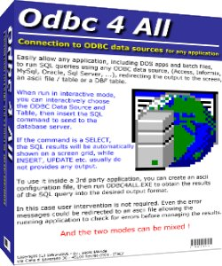 Odbc 4 All Download
