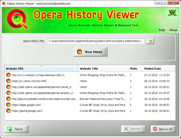 Opera History Viewer Download