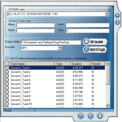 OSS CD Ripper N' ID3V2 Tag Editor Download