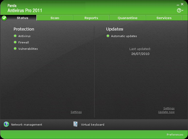 Panda Antivirus Pro 2011 Download