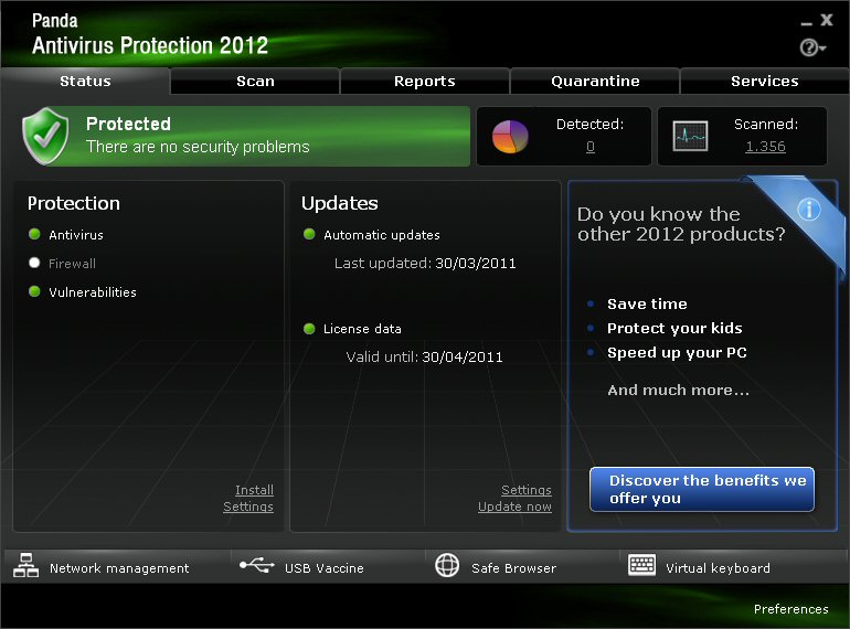 Panda Antivirus Pro 2012 Download