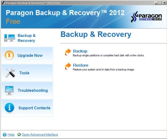 Paragon Backup & Recovery Free Edition 64bit Download
