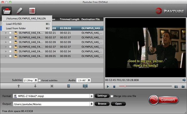 Pavtube Free DVDAid for Mac Download