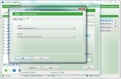 PC MP3 To WMA Download