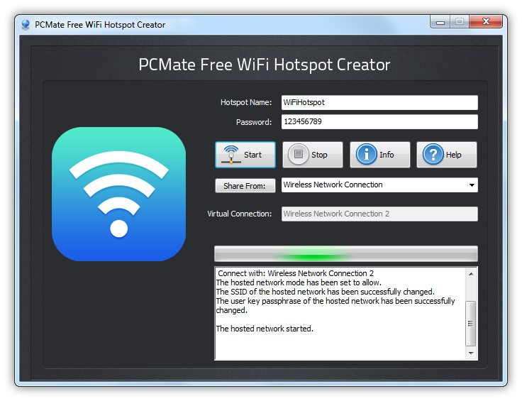 PCMate Free WiFi Hotspot Creator Download