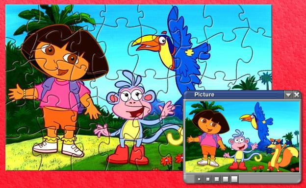 PD1 Lovely Dora Puzzle Games Download