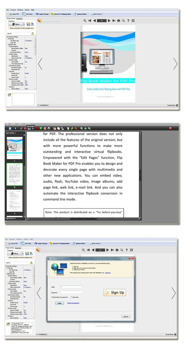 PDF to Flipping Book Pro Download