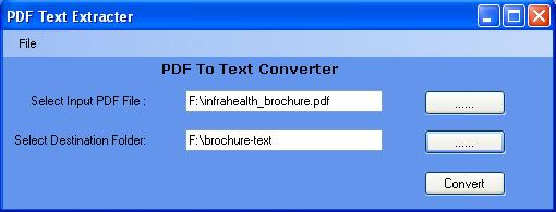 PDF To Text Converter Download