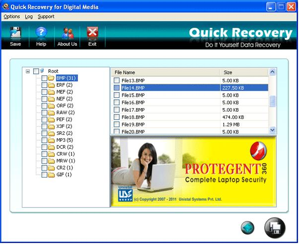 Peerless Digital Media Recovery Tool Download