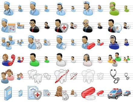 Perfect Doctor Icons Download
