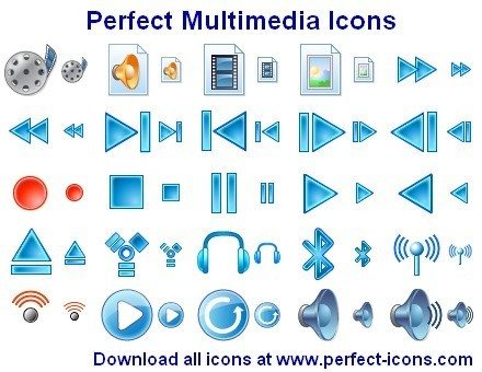 Perfect Multimedia Icons Download
