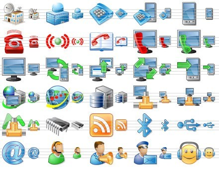 Perfect Telecom Icons Download