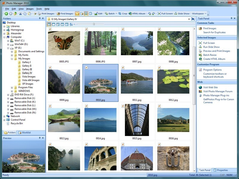 Photo Manager 2010 Standard Download