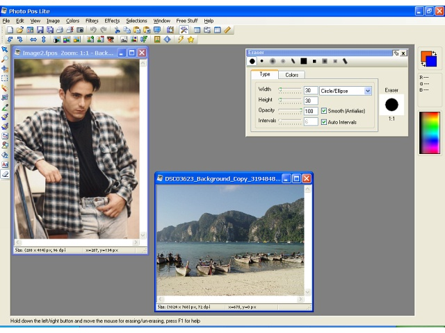 Photo Pos Lite photo editor Download