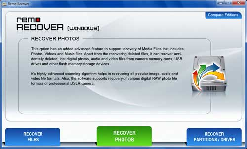 Picture Recovery - Photo recovery application Download