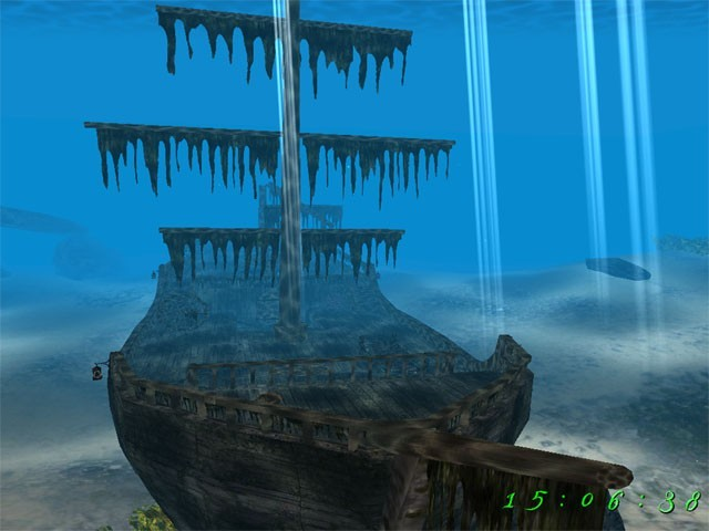 Pirate Ship 3D Screensaver Download