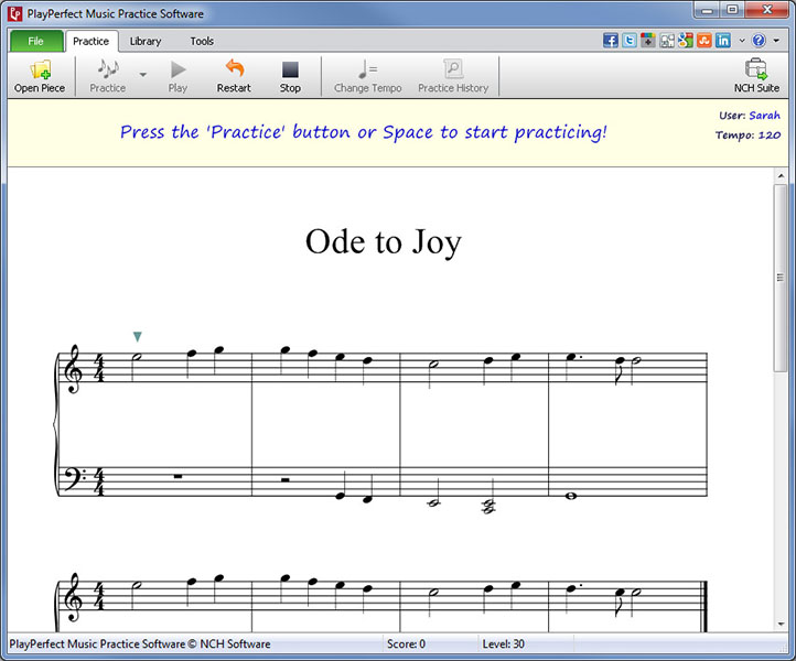 PlayPerfect Music Practice Software Download