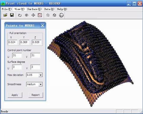 Point cloud to NURBS Download