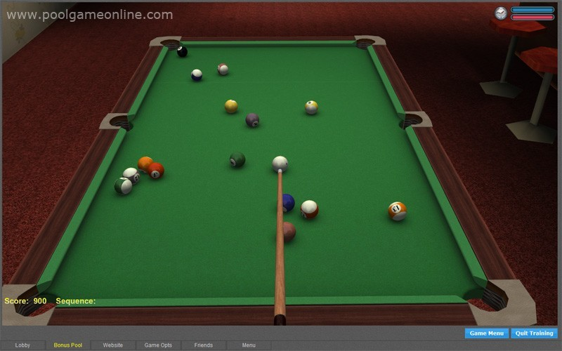 billiards online game