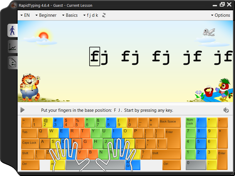 Portable Rapid Typing Tutor Download