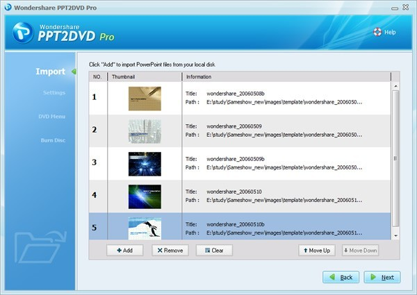 PPT2DVD Pro Software Download