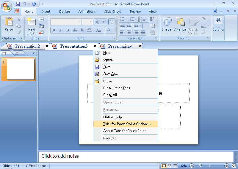 Presentation Tabs for PowerPoint 64bit Download