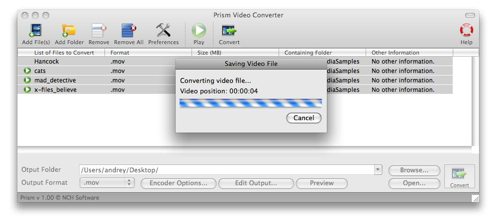 Prism Video Converter for Mac Download