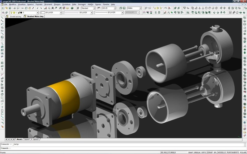 3D AutoCAD Drawings