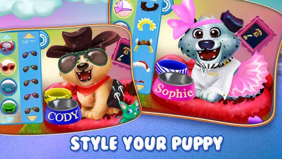 Puppy Dog Sitter - Dress Up & Care, Feed & Play! Download