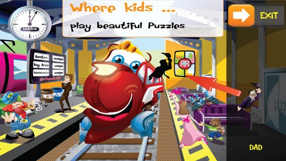PUZZINGO Trains Puzzles Games for Kids and Toddlers Download