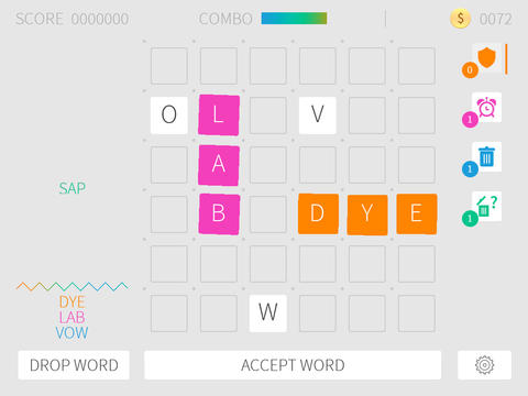 Puzzword - unique word puzzle game. Download