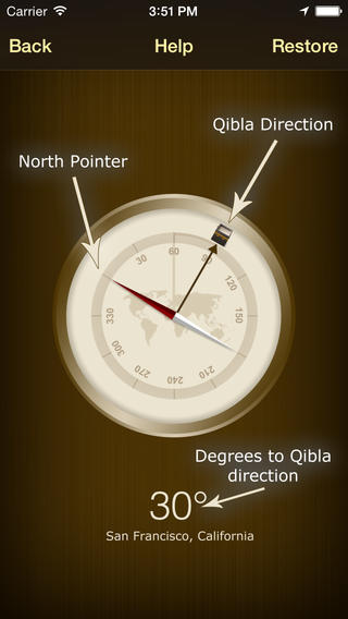 Qibla Compass - Free Download