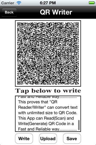 QR Reader/Writer Download