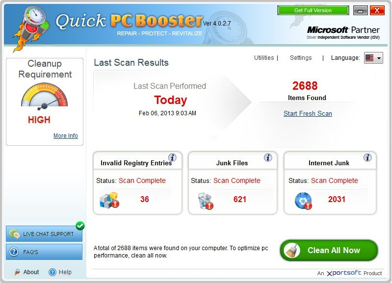 Quick PC Booster Download