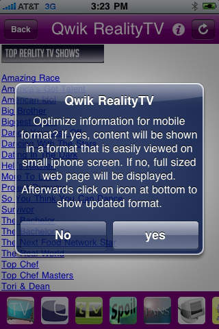 Qwik RealityTV News Download