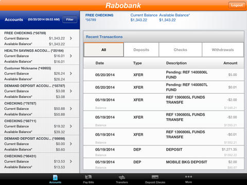 Rabobank Mobile Banking for iPad Download