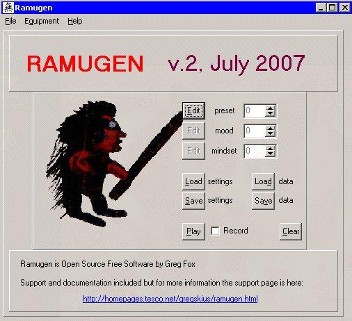 Ramugen : Random Music Generator Download