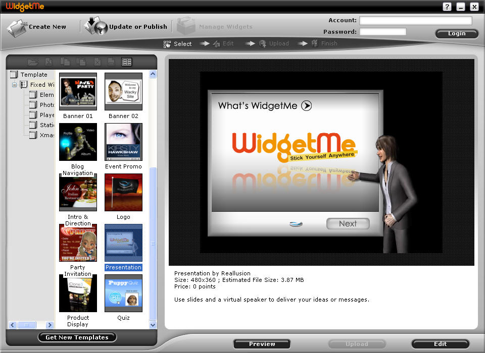 Reallusion WidgetMe Download