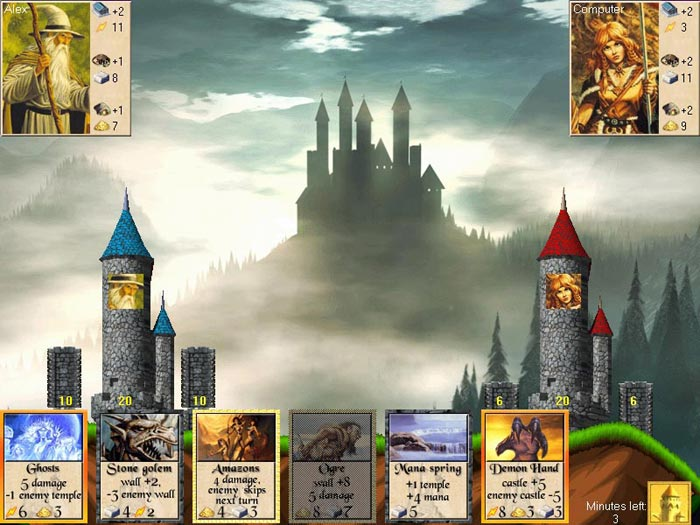 Screenshot, Review, Downloads of Shareware Realms Of Magic