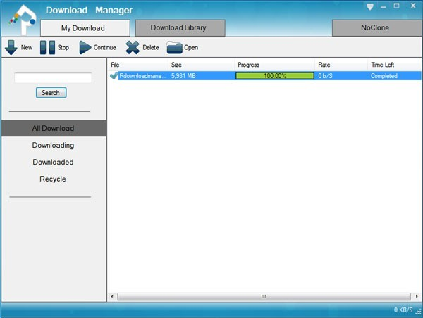 Reasonable Download Manager Download