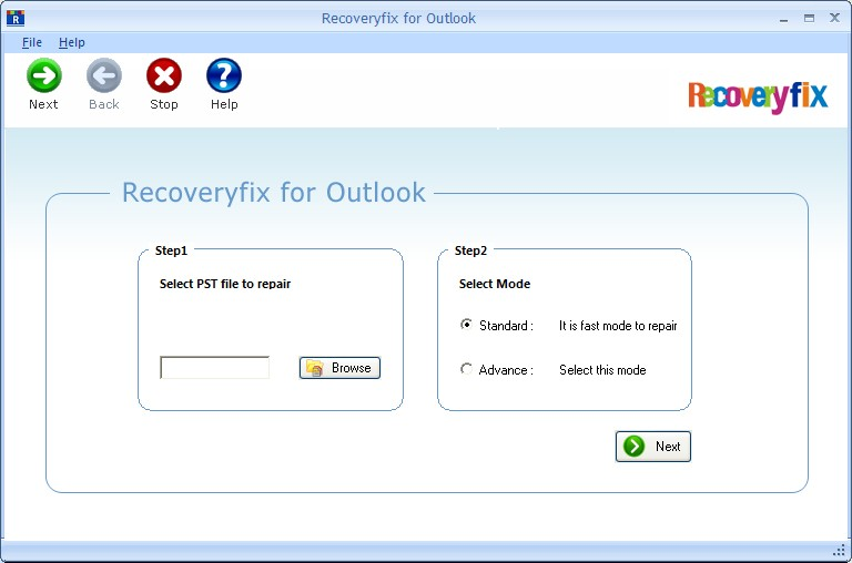 RecoveryFix for Outlook PST Repair Download