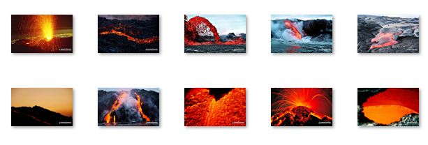Red Hot Lava Windows 7 Theme Download