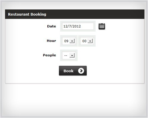 Restaurant Booking System Download
