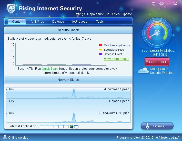 Rising Internet Security 2011 Download