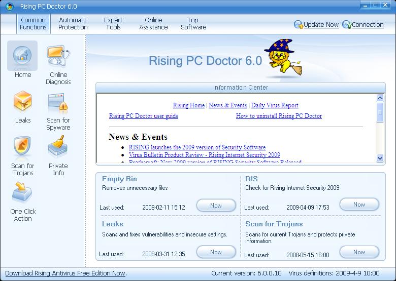 Rising PC Doctor Download