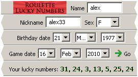 Roulette Lucky Number Generator Download