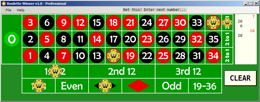 Roulette Winner Software