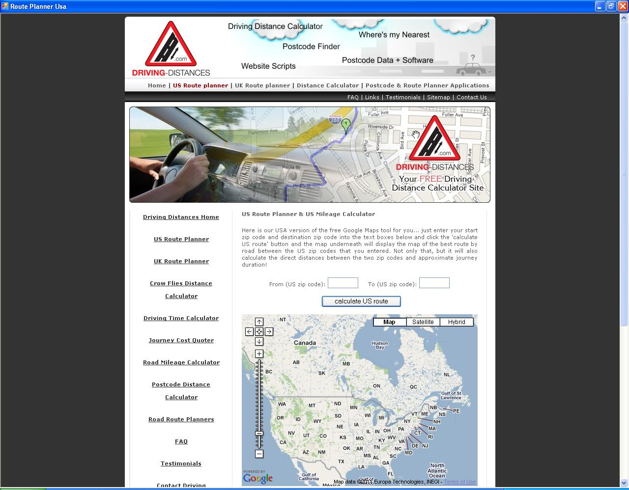 Route Planner Usa Download