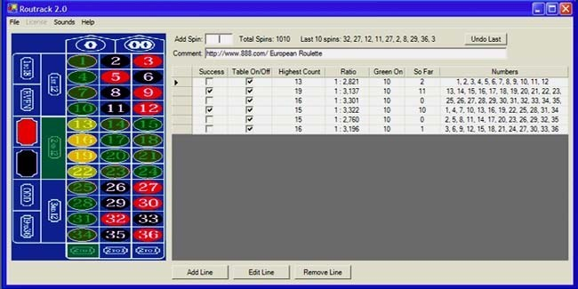 roulette system software